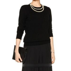 NWT Equipment Shane Pearl Necklace Sweater